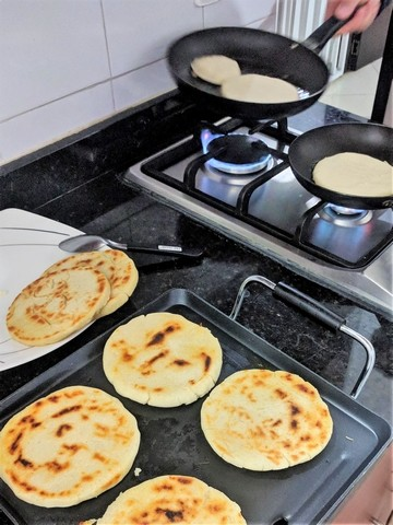 My Favourite Colombian Food Arepas Ehe Spanish School